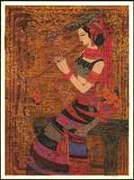 Chen Yongle Women With Waist Flowers - (Limited edition)