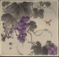 Chikuseki - Grape and Wasp