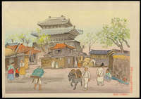 Hiyoshi Mamoru - Korean Scene (Gate of Castle)