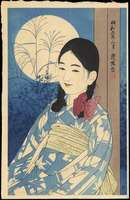 Ito Shinsui - Autumn Full Moon