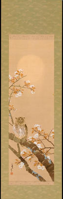 Kinko - Owl in Cherry Tree