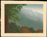 Miyamoto Shufu - Distant View of a Redwood Forest