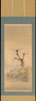 Shotei - Farmer on a Misty Morning