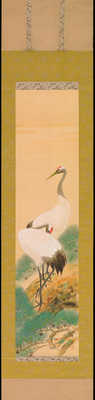 Suiko - Two Cranes on Pine Tree