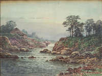 Uehara - Cottage by River Waterfall