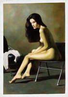 Zhangbo - Nude on a Chair