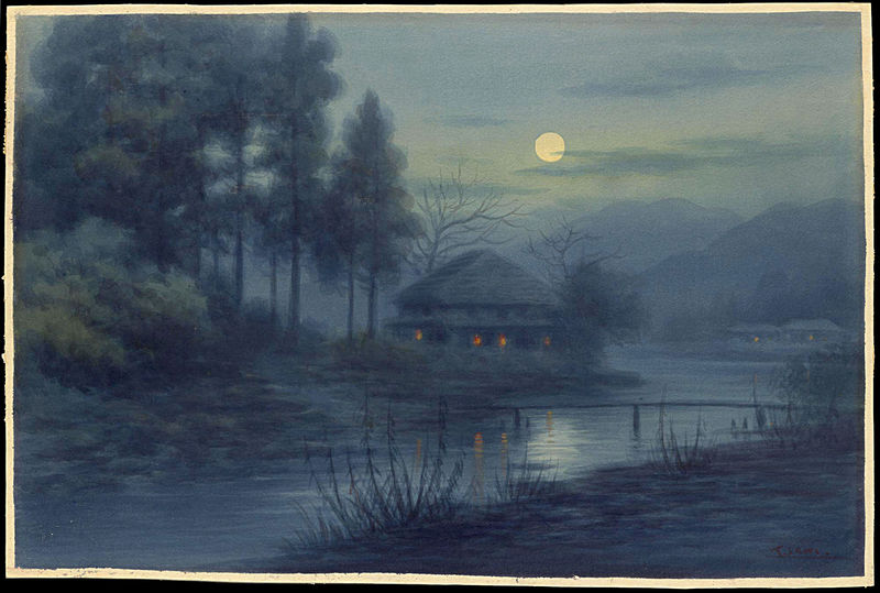 picture of moonlit night